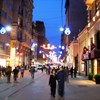 İstiklal Caddesi by night